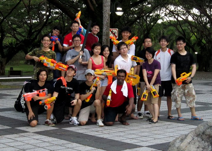 NUS-NYP Combined Army The war is far from its end as yet. The next Nerf War  will take place on this Friday, 27th May, at Changi Beach Club after  affiliates ...